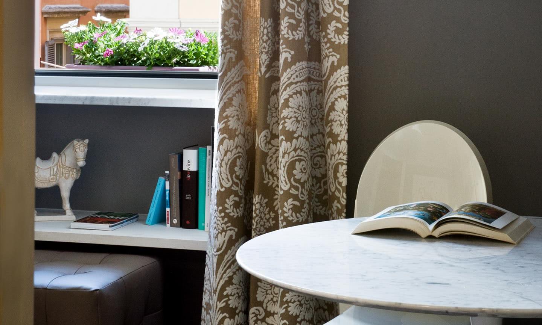 Bureau ou petite chambre casa montani b b de luxe rome italie
